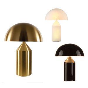 Salon aydınlatma armatürü Luminaria abajur Modern Mantar Masa Lambası Nordic LED Yatak Başucu lambası Art deco Danışma ışık