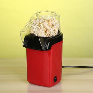 Tip Popcorn DIY Popper İçin Çocuklar Üfleme 2020 Ev elektrikli Mini Ev Popcorn Maker Otomatik Mısır Patlatma Makinesi Hava