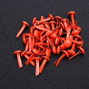 Fake Nails Beauty 50pcs Accessories for Health & Beauty Brads Scrapbook Round Makeup Mini Brad Craft Latch Nail Tips