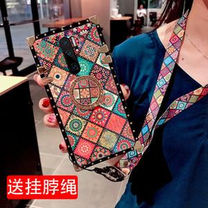 для ip 11 11pro max 7 8p x xr xs женские модели Tide brand personality all-inclusive network с красным талрепом популярные бренды силиконовый мягкий
