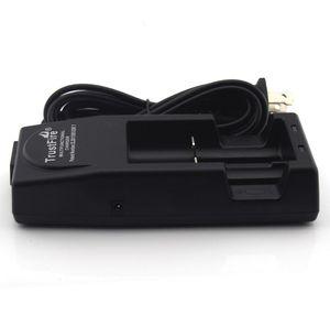 New trustfire TR001 TR001 Multifuncional Lithium Battery dupla Carregador de Bateria + Car Charger 18650, 18500, 18350, 17670, 16340 Dropshipping