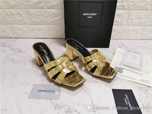 Klassische Damen Pantoletten Tribute High Heel Slides, gewebte Ledersandalen Lady Pump Shoes Multicolor 105 Ledersandalen Größe 34-42
