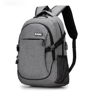 Antirrobo Mochila Proofwater Repelente Diseño Puerto de carga USB de viaje bolso de escuela