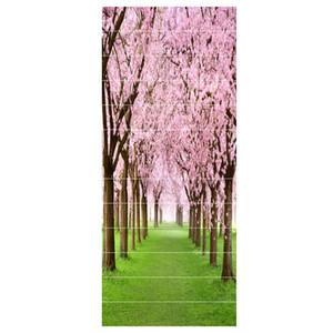 Treppen Aufkleber 3D Oriental Cherry wasserdichte Tapete Hauptdekorationen 7,1 x 39,4 Zoll 13pcs
