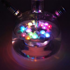 Étanche Narguilé Shisha LED Floated Led Fée Perles Lumière pour Chicha Narguile Festival Party Club Bar Décoration Pipe Accessoires