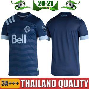 MLS 2020 2021 Vancouver Whitecaps fútbol jerseys ausentes 20 21 INBEOM 4 FELIPE 8 Ardaiz 9 MONTERO 12 REYNA ALIADNAN camisas del fútbol de Tailandia