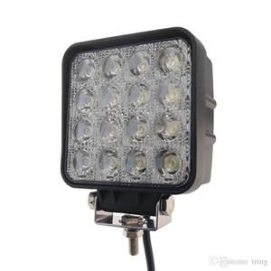 4,5 дюйма 48W LED Work Light 12V 24V Flood пятна луча автомобиля СИД по бездорожью светодиодные рабочие фары для грузовых автомобилей