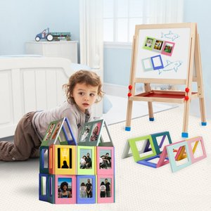 10PCS Set Assorted Color Free Combination Magnetic Photo Frame For Instant Film Mini Film Mini 9 Film Mini 8 7s 70 90