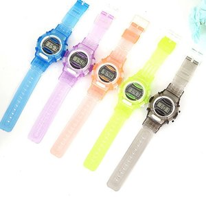 Candy Color Watch Boys Girls Children Students Watch Digital Sports Wrist Watch Small Gifts for Kids Free Shipping