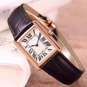 Mulheres elegantes ultrafinas assistir 2020 senhoras vestidos Relógios Casual rectângulo de couro Strap Relógio Feminino românticas melhores presentes para as meninas