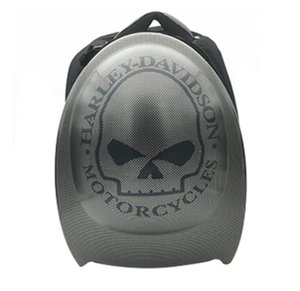 하드 쉘 헬멧 가방 탄소 섬유 어깨 하드 쉘 가방 오토바이 여행 오토바이 가방을 타고 핼리 오토바이