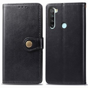 For Xiaomi Note 8T ENKAY Hat-Prince Litchi Texture Horizontal Flip Leather Case with Card Slots