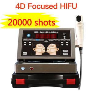 20000 Shots 3D Hifu Уход за кожей лица машина красоты 4D Hifu 1-12 Линии ультразвуковая абляция Hifu для похудения Оборудование для салонов красоты