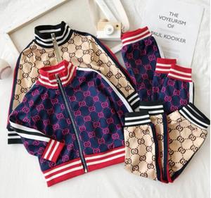 Cappotto del cardigan della lettera di due pezzi di colore della croce dei nuovi di sportwear degli uomini e delle donne casuali degli abiti sportivi della molla