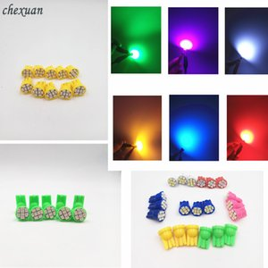 50pcs LED T10 8 smd 1206 8LEDs 8SMD coche de la luz interior 194 168 192 W5W 3020 Auto cuña de iluminación DC 12V