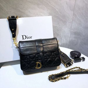 Высокое качество известный дизайнерский бренд Crossbody мешок Женщины Малый Сумка Цвет Wide Mini Square Zipper сумки Мобильный Женщины Посланника handNB06