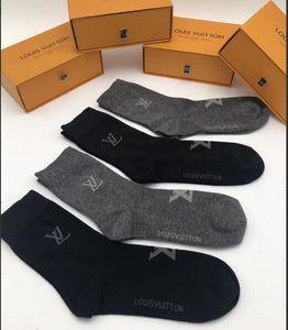 vetements moda de alta calidad calcetines para hombre deporte de la manera calcetines unisex del envío de la libre con la caja