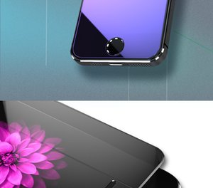 Tempered Glass On The For Apple iPhone 6 7 8 Plus Screen Protector 9h Anti Blue Light Protective Film Glass For iPhone X Xr Xs Xmax A6