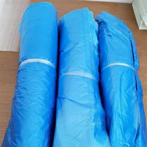 Практические Загрузочный рукава голубые цветы прозрачное Anti Dust Water Proof дождь Одноразовая обувь Обложка Unisex Защитные галоши Мужчины Женщины 0 3yq E19