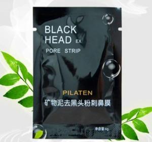 PILATEN aspirazione Black Mask Maschera Viso Pulizia Tearing Stile Pore Striscia di pulizia profonda del naso Acne Blackhead Maschera per il viso