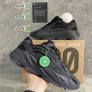 Top Quality Kanye West Shoes Magnet Teal blu operativa 700 Nero Vanta corridore dell'onda Tephra Mauve Ospedale statico Blu 700 v2 Sneaker Sneakers