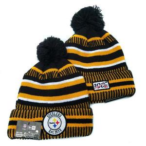 Tek Parça Pom ucuz Beyzbol Steelers Spor Skullies Beanie Caps Hip Hop Beanies Bir boyutu uyan En çok Moda Marka Bere