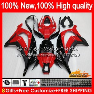 Injecção 100% apto para KAWASAKI ZX10R 1000cc ZX10R 16 17 18 51HC.17 ZX1000 ZX 10 R ZX 1000 ZX 10R fábrica vermelho 2,016 2,017 2,018 OEM carenagens