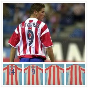 Retro Atlético 2002 03 Centenary Soccer Jerseys Torres Simeone KIKO CAMINERO Futbol Vintage Football Camisetas Classic Shirt Maillots madrid