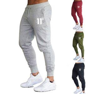 Mens Imcute nueva llegada ocasionales adelgazan chándal gimnasia de los deportes flacos Joggers Sweat Harem Pantalones