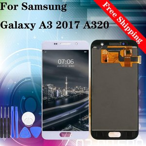 "4.7"" Original Fabrikpreis für Samsung Galaxy A3 2017 A320 A320F volle LCD-Anzeige Touch Screen Digitizer Assembly Vollständige"