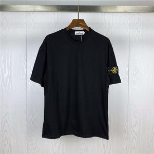 2019 Verão Designer de T para homens cobre Olhos Letras Bordado T shirt dos homens roupas de marca de manga curta Camisetas Mulheres Tops S-2XL