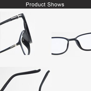 Wholesale- Glasses Frame TR90 Anti-blue Light Geogle Myopia Clear Eye Glasses Frames for Men Retro Optical Frame