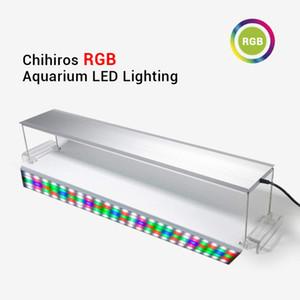 Chihiros RGB LED ضوء حوض السمك الطيف الإضاءة الكاملة للالمائية سطوع قابل للتعديل مصنع للدبابات 30-120cm