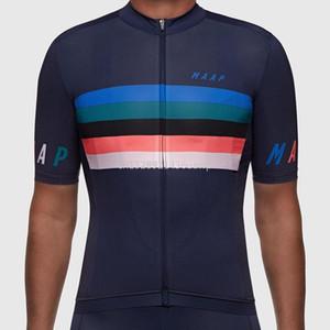 Pro Team Maap vélo frénétiques Jersey manches courtes vêtements de cyclisme sur route de haute qualité / Vtt Vélo chemise hombre
