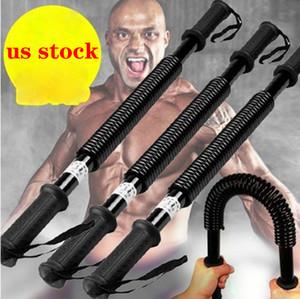 US estoque! 30KG / 40KG / 50KG / 60KG Fitness Equipment primavera de alta resistência Gripper Mão força do braço formador de energia Fitness Equipment portátil