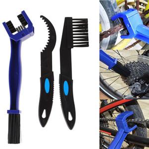 3adet Bisiklet Bisiklet Zincir Temizleme Fırçası seti Motosiklet Bisiklet Zincir Temizleme Dişli Scrubber Araçları Taşınabilir Bisiklet Fırça Seti