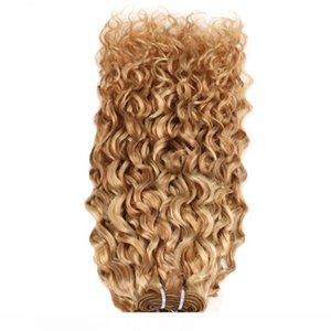 H Peruvian Water Wave Bundles Human Hair Bundles No Remy Human Hair Extensions 1 Pc Piano 27 613