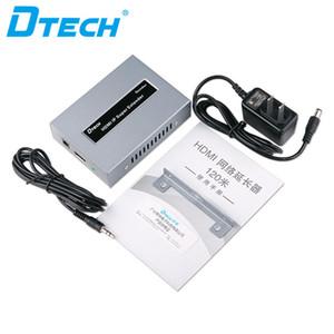venta caliente de radio cámara de circuito cerrado de televisión RX TX Cat5e UTP cat6 IR remoto de audio y vídeo IP Control HDMI 1080P HD 120m POE Extender