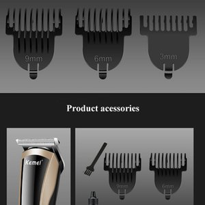 New Kemei KM - 418 Professional Electric Hair Clipper Trimmer hair Plug Rechargeable Electric Razor Men newclipper