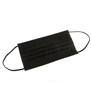 Disposable Face Mask Black Protective Designer Elastic for Mask Safety Anti Dust Cotton Mouth Masks 3 Layer Fashion Luxury design ice silk