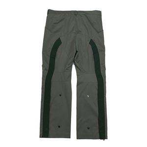 Mens Hosen Retro KIKO KOSTADINOV Anzughose Schwarz Grün gerade beiläufige lose Hosen Modejogginghose beiläufige Hosen
