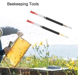 2 Pcs / Caixa Queen Bee Larvas retrátil Ferramenta Alongamento para Apicultura Criação de abastecimento de Apicultura 11 centímetros