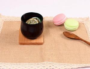Деревянные подставки деревянные деревянный утепленный пусковая площадка чашки чая колодки изоляцией питьевой чайник коврики стол коврики GGA2389