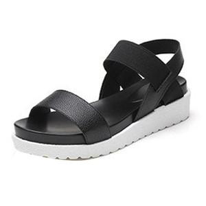 뜨거운 판매 - 여성 여성 여름 신발 로마 샌들 여성 슬리퍼 Sandalia Feminina 패션 O0507 # 30 GMX190705 플립