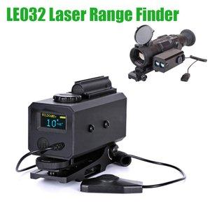 LE032 Mini Lazer Mesafe Bulucu Taktik Ayarlanabilir Kapsam Dağı ile 700 M Telemetre Avcılık için Rilfe Kapsam 20mm Ray için