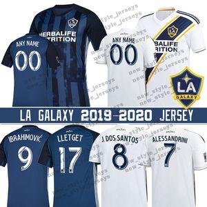 8 Джонатан дос Сантос 2019 LA Galaxy Джерси Мужчины 9 Златан Ибрагимович 7 Алессандрините 14 Джо Короны 17 Себастиана Ллетджет футбол Джерси
