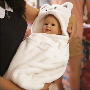 Hood Banyo Havlusu Çocuklar Için Bebek Bornoz Sevimli Hayvan Havlu Karikatür Bebek Sayfalar Battaniye Çocuklar Kapşonlu Bornoz Toddler Bebek Banyo Havlu Elbiseler