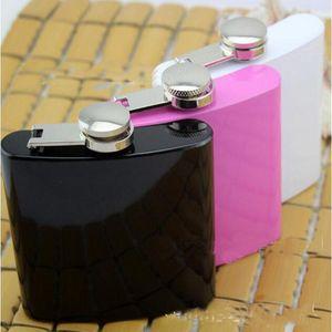 Mode de neuf en acier inoxydable Hip Flask Flask alcool Pocket 2016 HOT 3 Couleur du vin Parti Flask Boisson Drinkware
