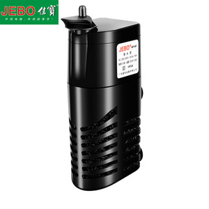 Jebo Mini Aquarium Filter 5w Submersible Filter With Filter Sponge Small Fish Tank Submersible Pump Increase Air Oxygen Ap115f