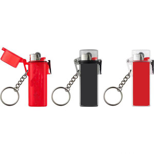 A-419 20ss Waterproof Lighter Case Keychain color in stock popular Lanyard for Keys Chain and ID cards straps